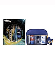 Gilette Mach 3 Razor Set & Travel Set