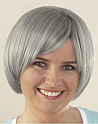 Alice Naturally Grey Bob Wig