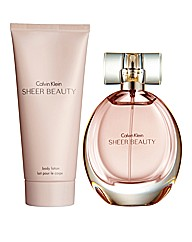 Calvin Klein Sheer Beauty Gift Set