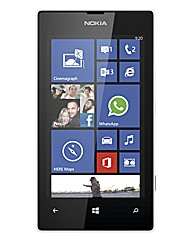 Vodafone Lumia 520 Faith White Mobile