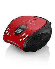 Lenco Portable CD Player - Red