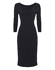 Eve Pollard Reversible Jersey Dress