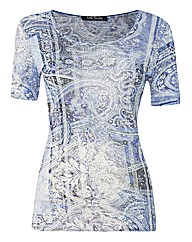 Betty Barclay Paisley Fine Jersey Top
