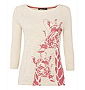 Betty Barclay Giraffe-print Jersey Top
