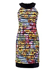 Joseph Ribkoff Tiered Jersey Dress