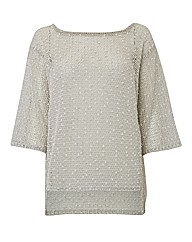 Sulu Textured Spot Jumper