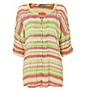 Gelco Rainbow Stripe Overshirt