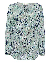 Betty Barclay Paisley Voile Blouse