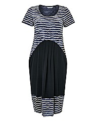 Chesca Contrast Jersey Dress
