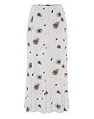 Eugen Klein Dandelion-print Jersey Skirt