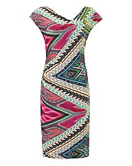 Apanage Tribal-print Jersey Dress