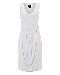 Ronen Chen Ripple-pleated Jersey Dress