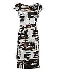 Apanage Abstract Jersey Dress