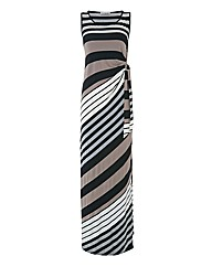 Gina Bacconi Jersey Maxi Dress
