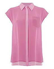 Erfo Fine Georgette Sleeveless Blouse