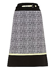 Frank Walder Stretch Cotton Skirt