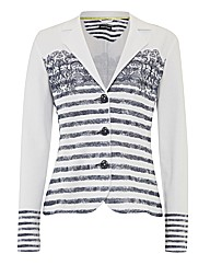 Gerry Weber Printed Pique Jacket