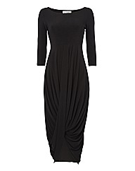 Joseph Ribkoff Draped Jersey Dress