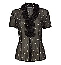 Gerry Weber Chiffon Hearts Blouse