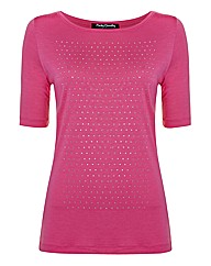Betty Barclay Sparkle Stud Jersey Top