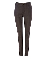 NYDJ Mock Suede Slim-leg Trousers