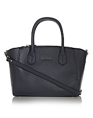Maria Carla Leather Trapeze Tote