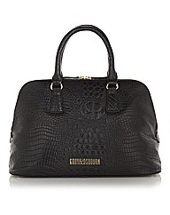Gray & Osbourn Croc Print Leather Tote