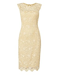 Gina Bacconi Crochet Lace Dress