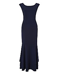 Gina Bacconi Fishtail Maxi Dress
