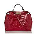 Jane Shilton Croc Print Leather Tote