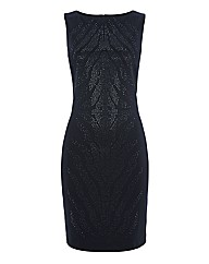 Gina Bacconi Sleeveless Shift Dress