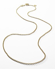 Sence Box Chain Necklace