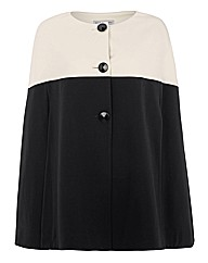 Gina Bacconi Colour Block Cape