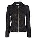 Gina Bacconi Sequin Knit Jacket