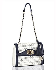 Jane Shilton Two Tone Shoulder Bag