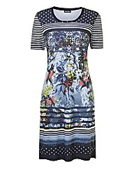 Gerry Weber Floral And Spot Print Dress