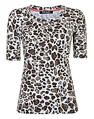 Betty Barclay Animal Print Top