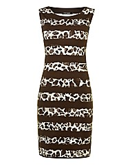 Betty Barclay Animal Stripe Dress