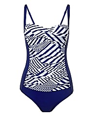 Moontide Printed Swimsuit
