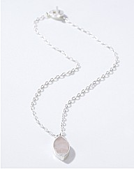 Sence Petal Rose Necklace