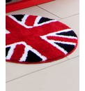 Union Jack Circle Rug