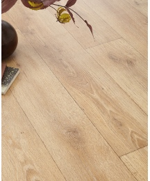Oak Wide Plank Effect Vinyl Flooring