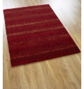 Graded Stripe Luxury Twist Pile Rug