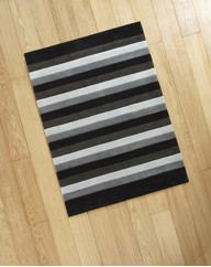 Tonal Stripe Acrylic Rug