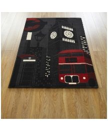 City Scene Rug