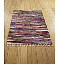 Multi Colour Cotton Rug