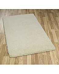Glossy Machine Washable Shaggy Rug