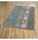Metro Luxury Carved Acrylic Rug