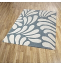 Lily Luxury Carved Acrylic Rug