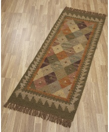 Bazaar Traditional Kilim Wool Rug&Runner